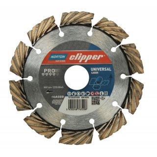 Norton Clipper Diamanttrennscheibe Pro Universal Laser - 115x22,2 mm