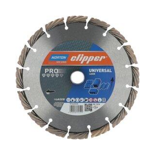Norton Clipper Diamanttrennscheibe Pro Universal Laser - 180x30/2H
