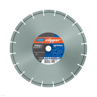 Norton Clipper Diamanttrennscheibe Pro Universal Laser - 400x25,4 mm