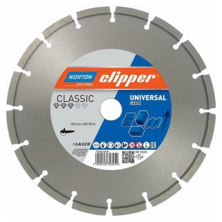 Norton Clipper Diamanttrennscheibe Classic Universal Laser - 230x22,2 mm