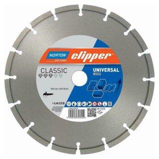 Norton Clipper Diamanttrennscheibe Classic Universal Laser - 300x25,4 mm