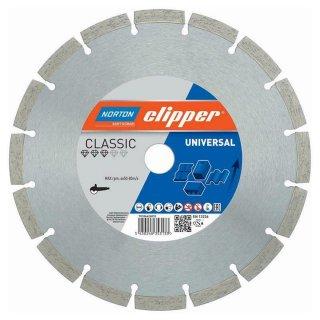 Norton Clipper Diamanttrennscheibe Classic Universal - 115x22,2 mm