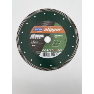 Norton Clipper Extreme Ceramic Turbo- 230 x 25,4 mm Super Gres XT