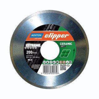 Norton Clipper Extreme Ceramic Soft Ø 200 x 25,4