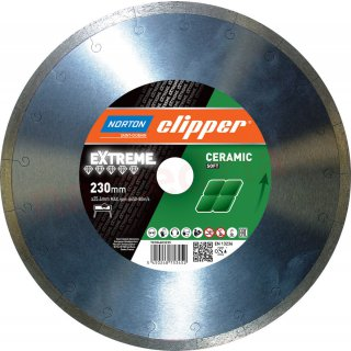 Norton Clipper Extreme Ceramic Soft Ø 230 x 25,4