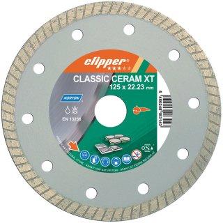 Norton Clipper Classic Ceramic Turbo 125 x 22,23 mm 70184627646