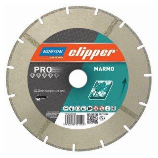 Norton Clipper Diamanttrennscheibe Pro Marmo 125x22,2 mm
