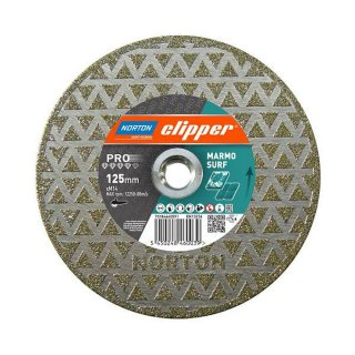 Norton Clipper Diamantscheibe Pro Marmo Surf 125x22,2 mm