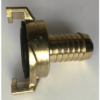 """Wasserkupplung Schnellkupplung - Schlauchtülle 3/4"""" - 19 mm Klauenkupplung 40 mm Klauenabstand"""