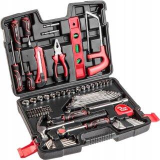 100 Teilig Werkzeug Set Werkzeugkoffer Werkzeugkasten Werkzeugkiste
