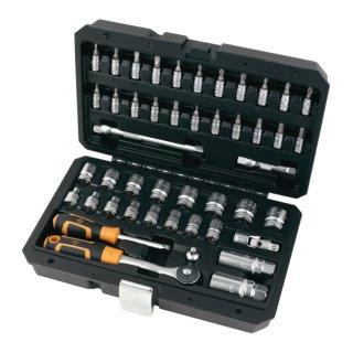 46 Teilig Werkzeug Set Umschaltknarre