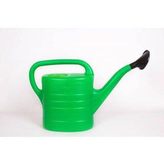Gießkanne 10 l grün Kunststoff mit Aufsteckbrausekopf