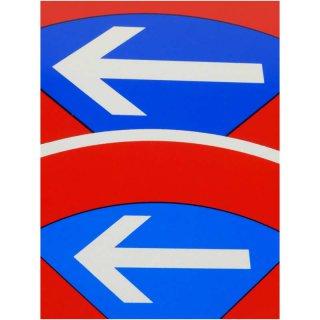 Klebepfeile für Verkehrszeichen Haltverbot Ø 600 mm, reflektierend