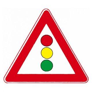 Verkehrszeichen Dreieck 131 Verkehrsschild 900 mm RA1 Lichtzeichenanlage