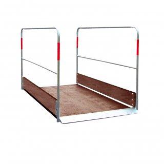 Grabenbrücke aus Holz 1,00 x 2,20 m / ZTV-SA-Verordnung