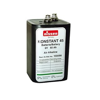 Konstant Batterie Blockbatterie Zink/Luft Alkali 6V/45-50AH
