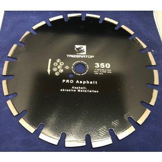 Diamanttrennscheibe Asphalt 350 mm 20 mm