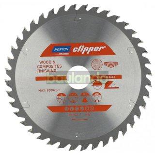 Norton Clipper Kreissägeblatt Holz / Verbundwerkstoffe 230x30 24Z