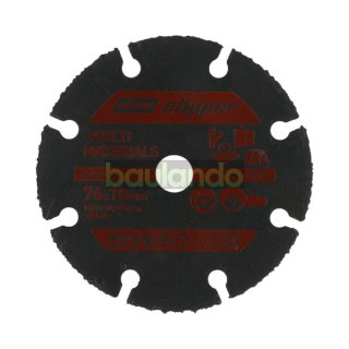 Norton Clipper Kreissägeblatt Holz, Kunststoff, PVC, Gips, Holz mit Nägeln 76x10