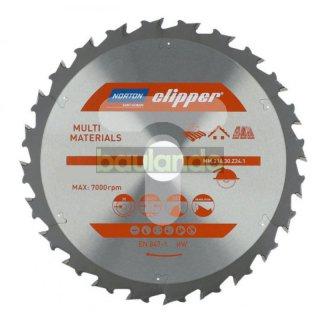 Norton Clipper Kreissägeblatt Universal / Grob 350x30 24Z