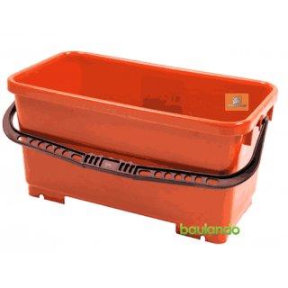 Fliesenlegerwascheimer 22 Liter, ohne Rollen,  ohen Rollenaufsatz