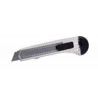 Abbrechmesser Cuttermesser Teppichmesser 18 mm, mit metallführung