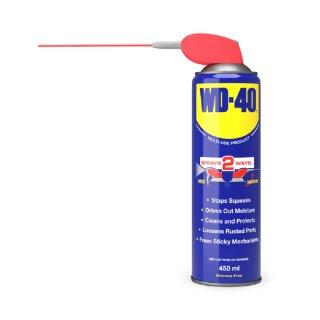 WD-40 500 ml Spray Kriechöl, Korrosionsschutz Schmierstoff Reiniger Rostlöser Smart Straw