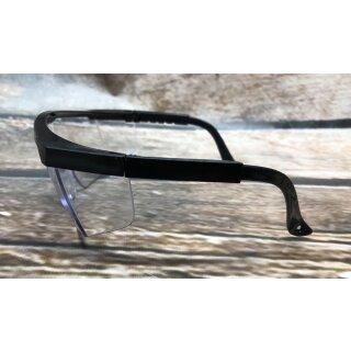Schutzbrille mit Bügel, und Seitnschutz EN -166, verstellbar