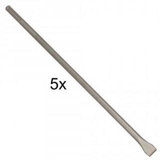 Flachmeißel mit SDS-max-Aufnahme, 600 x 25 mm, 5er-Pack