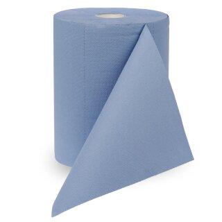 Putztuchrolle blau, 3-lagig
